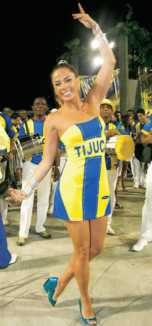 Adriane Galisteu - Unidos da Tijuca  (apresentador