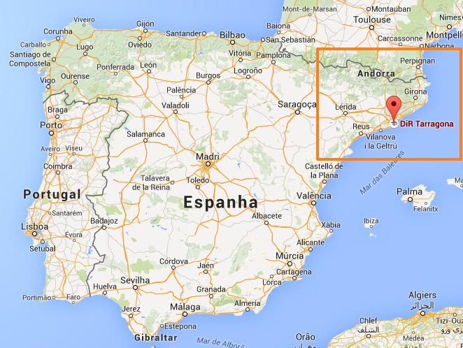 espanha mapa praias Férias Sul de Espanha espanha mapa praias