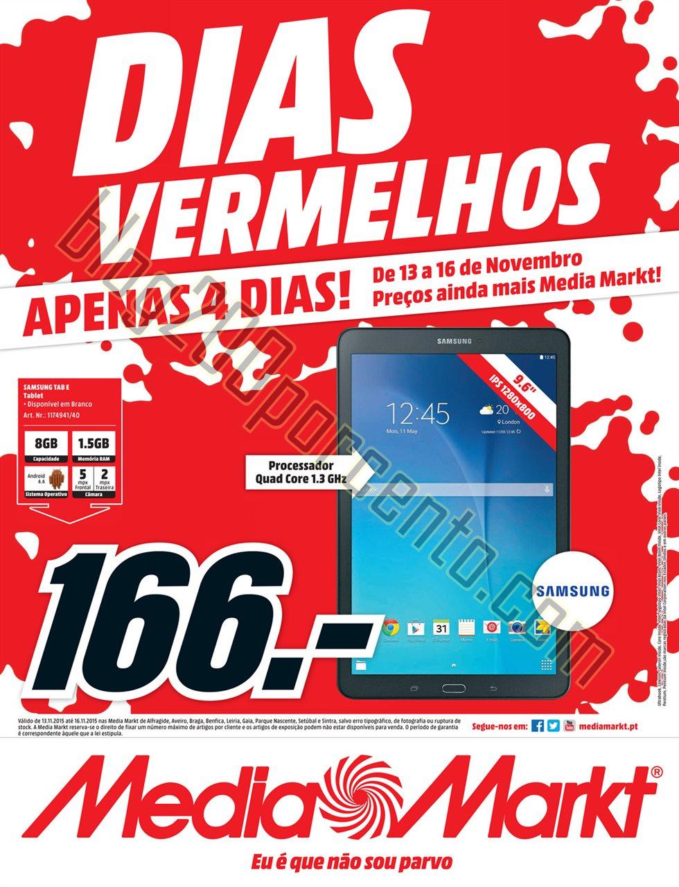 Antevisão Folheto MEDIA MARKT promoções de 13 a