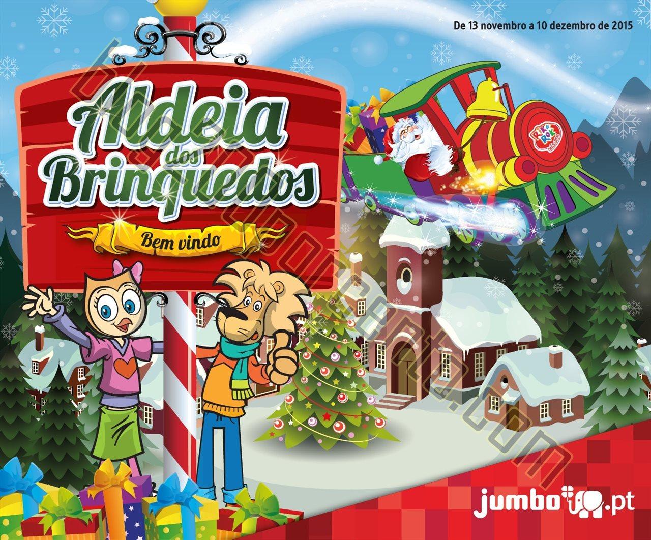 Antevisão Folheto JUMBO Brinquedos de Natal de 13