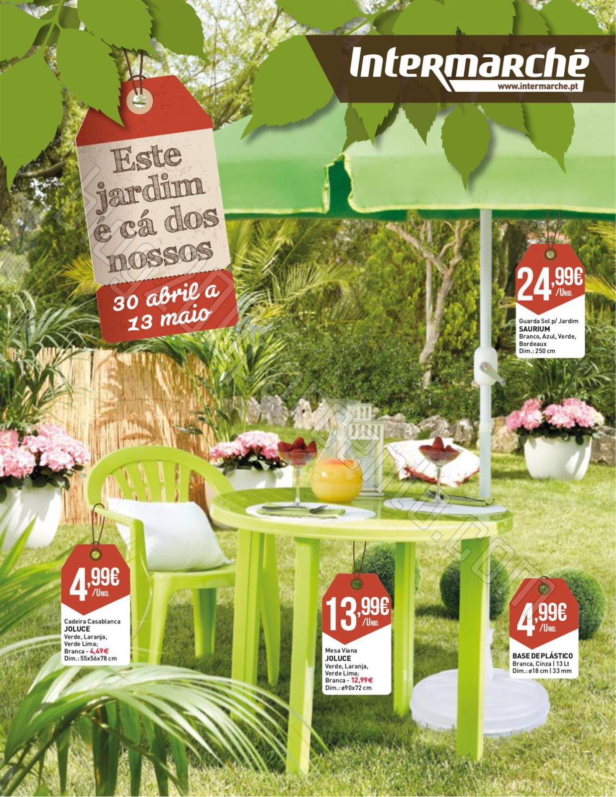 Antevisão Folheto INTERMARCHÉ Jardim de 30 abril