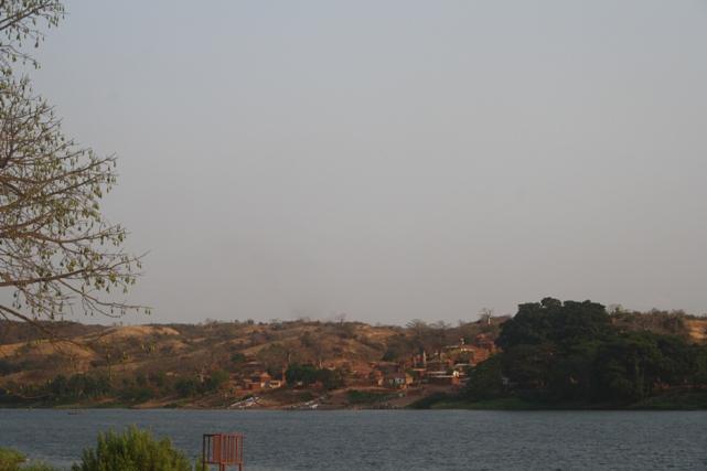 À beira rio Kwanza no Dondo. Kwanza Norte. Foto: Mayra Fernandes