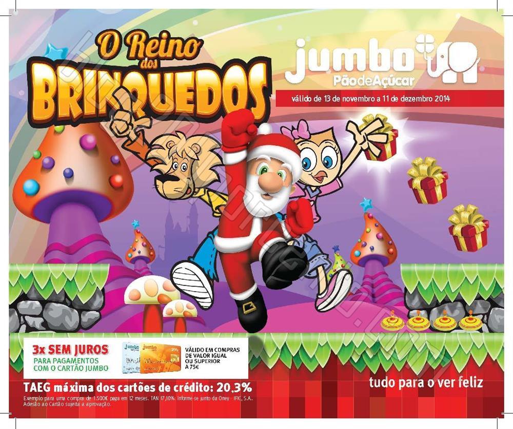 Antevisão Folheto JUMBO Brinquedos de 13 novembro