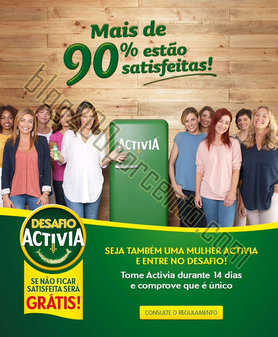 Novo desfio Activia DANONE participe até 30 novem