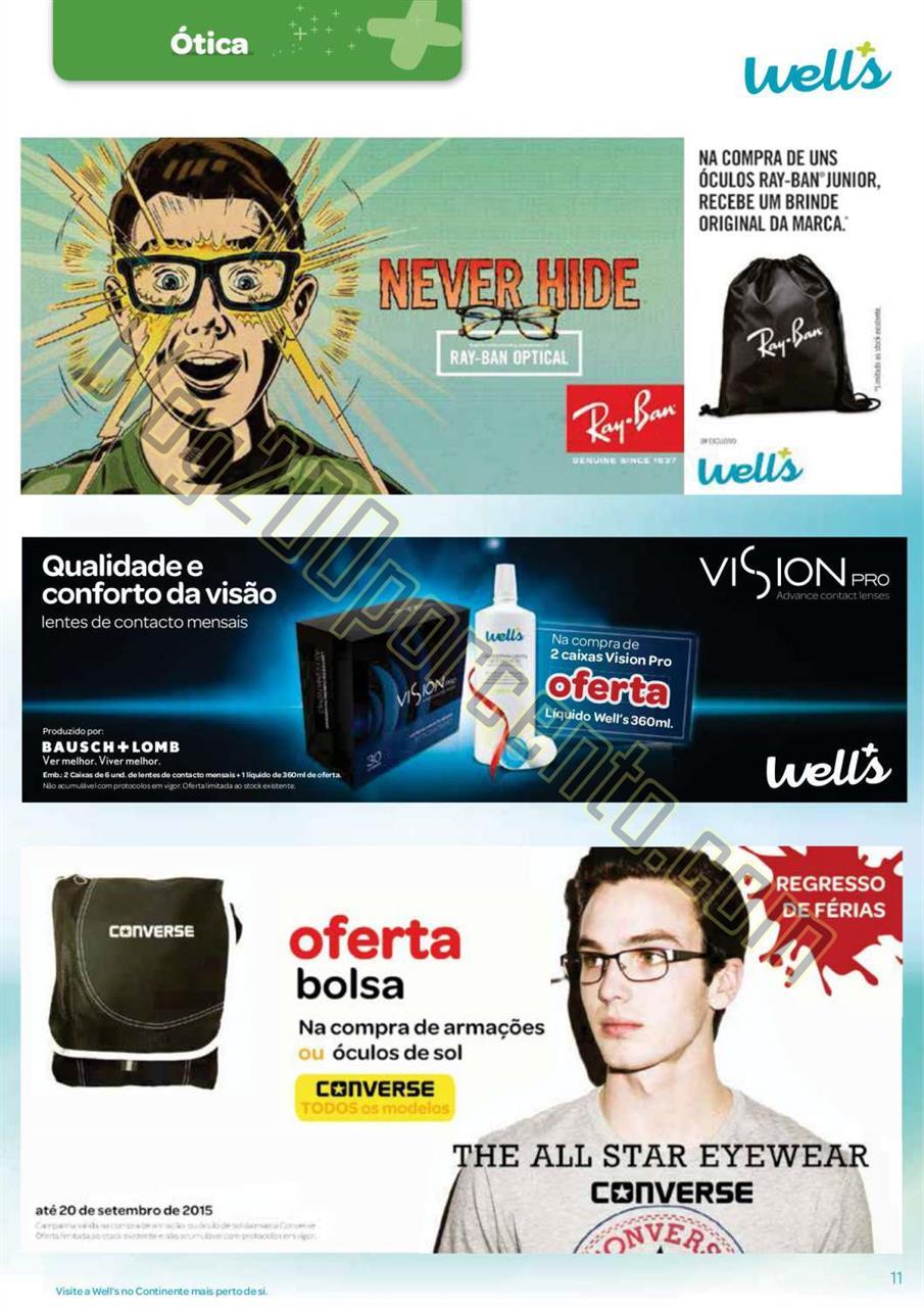 Antevisão Folheto WELLS Promoções de 25 agosto