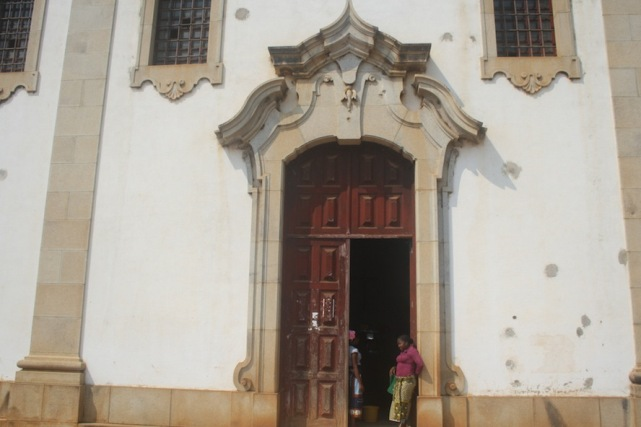 Igreja Nossa Senhora da Assunção. Waku Kungo. Kwanza Sul. Foto: Mayra Fernandes