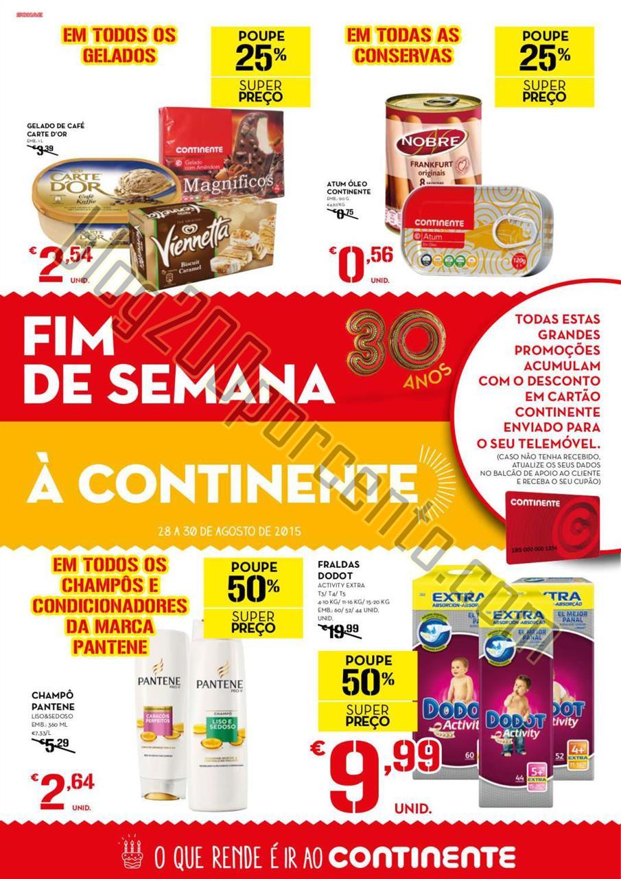 Antevisão Folheto CONTINENTE Extra Fim de semana