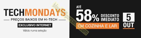 Até 58% de desconto FNAC TechMondays hoje dia 5 o
