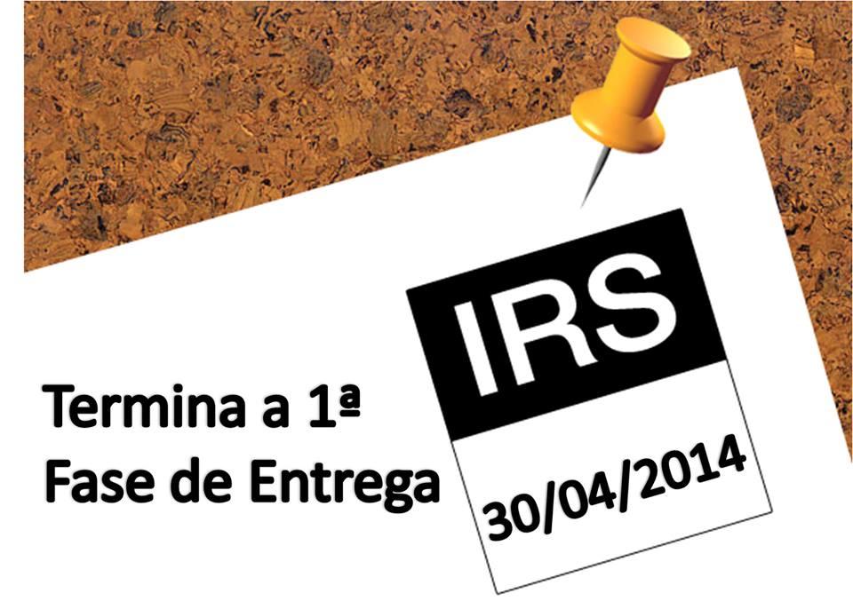 entrega de irs irc impostos isenções deduções portal das finanças