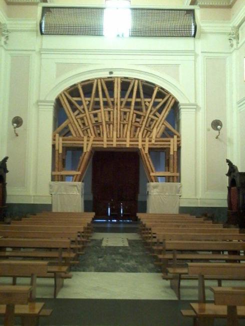 Escoras Mosteiro S. Alfonso Ligório