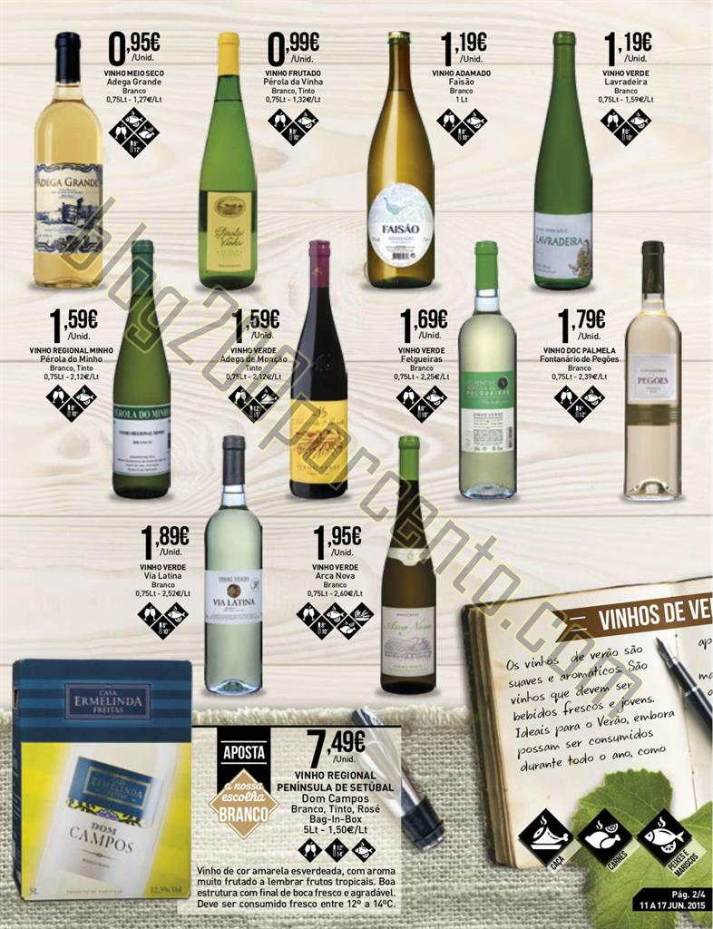 Antevisão Folheto INTERMARCHÉ Vinhos de 11 a 17