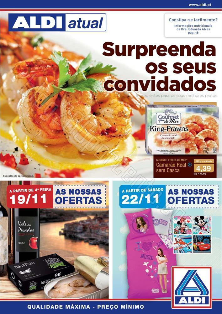 Antevisão Folheto ALDI a partir de 19 novembro p1
