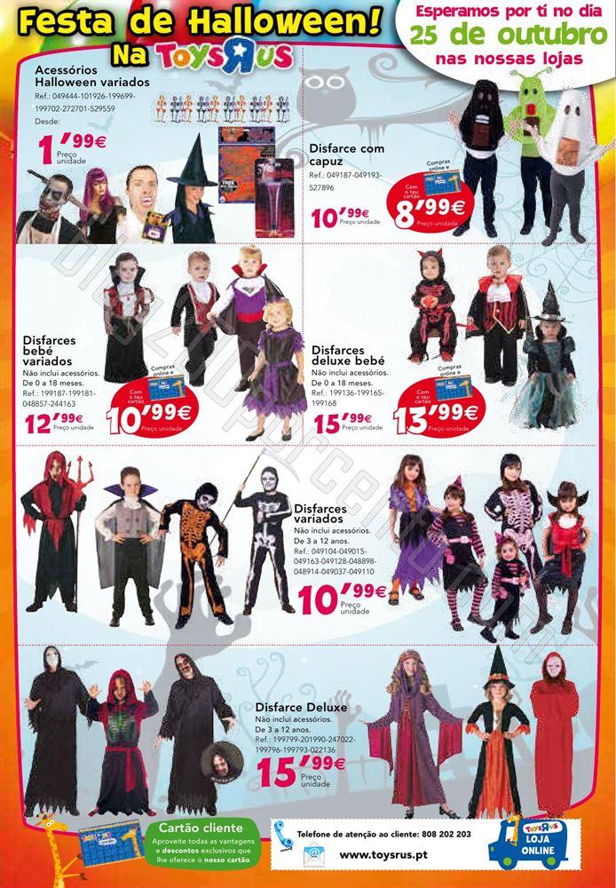 Novo folheto TOYSRUS de 9 a 31 outubro - Aniversá