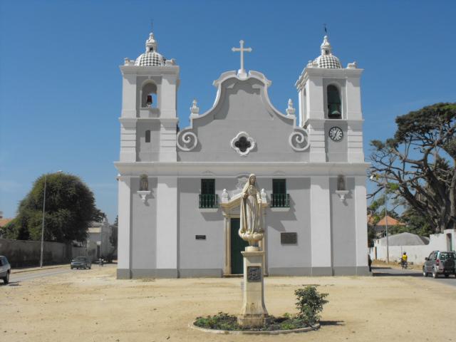 Igreja Nossa Senhora do Pópulo ou Populus em Benguela.