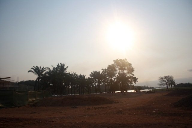 Paisagen à beira do rio Kwanza no Dondo. Kwanza Norte. Foto: Mayra Fernandes