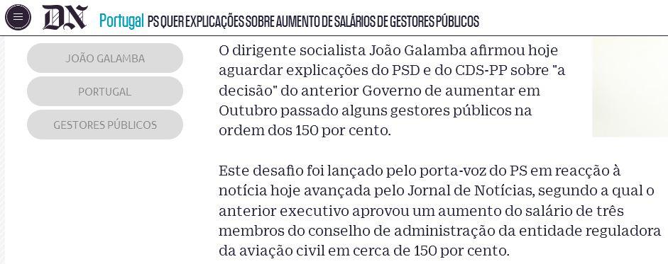 Galamba não legisla, ladra.