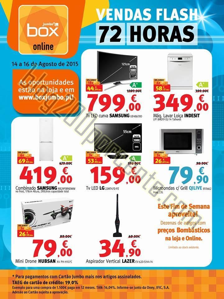 Antevisão Folheto JUMBO - BOX Promoções de 14 a