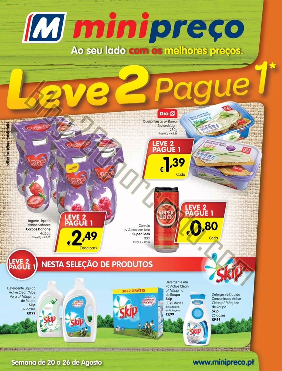 Antevisão Folheto MINIPREÇO Promoções de 20 a