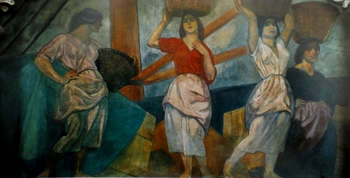 Aurelio Arteta 1879-1940 - Las cargueras del muell