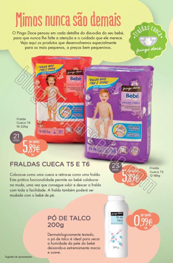 Novo Folheto PINGO DOCE Bebé promoções até 9 m