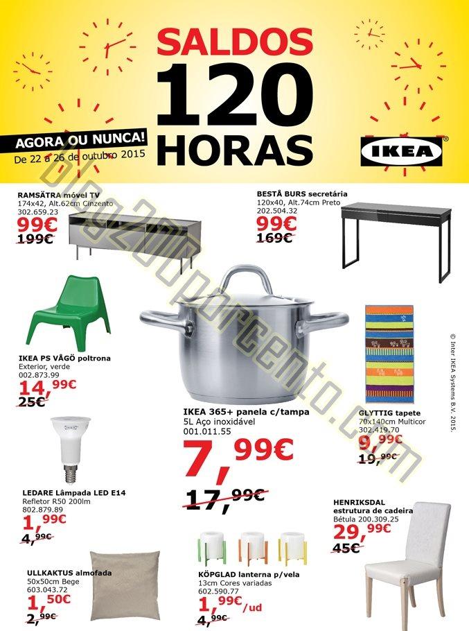 Antevisão 120 horas de saldos IKEA Matosinhos de