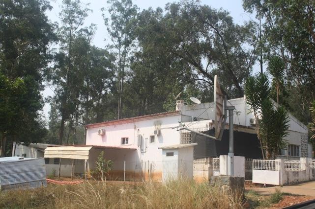 Casa em Waku Kungo. Kwanza Sul. Foto: Mayra Fernandes