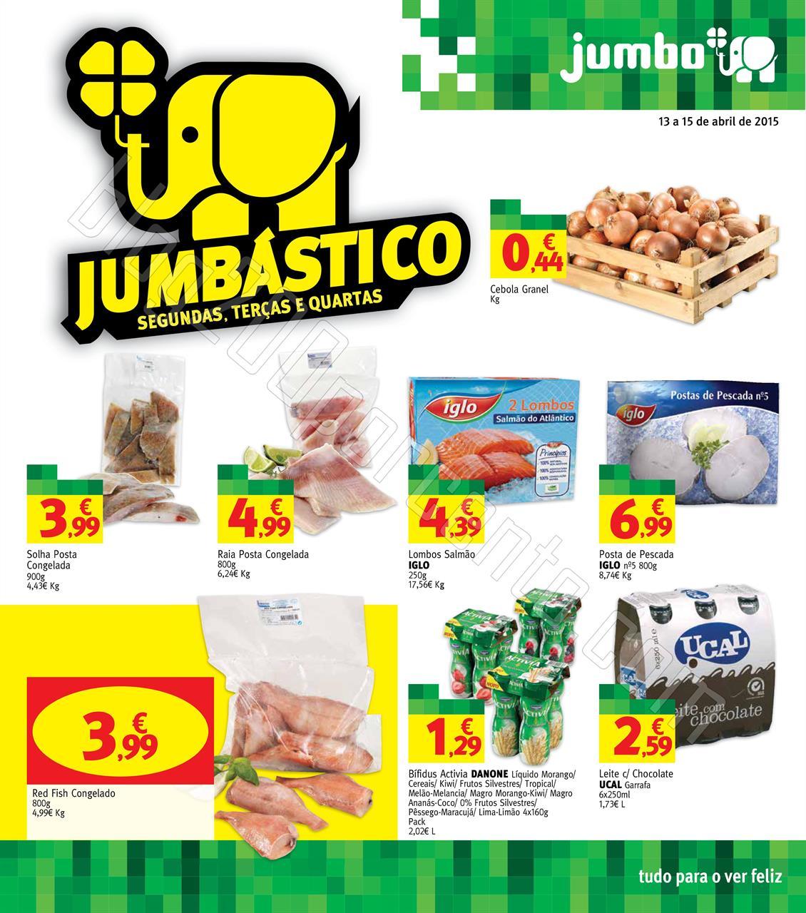 Antevisão Folheto JUMBO Promoções de 13 a 15 ab