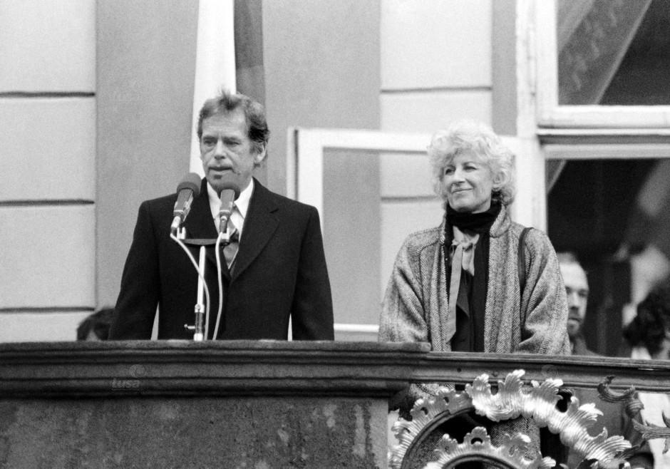 Checoslovaquia Nomeação do Presidente Havel