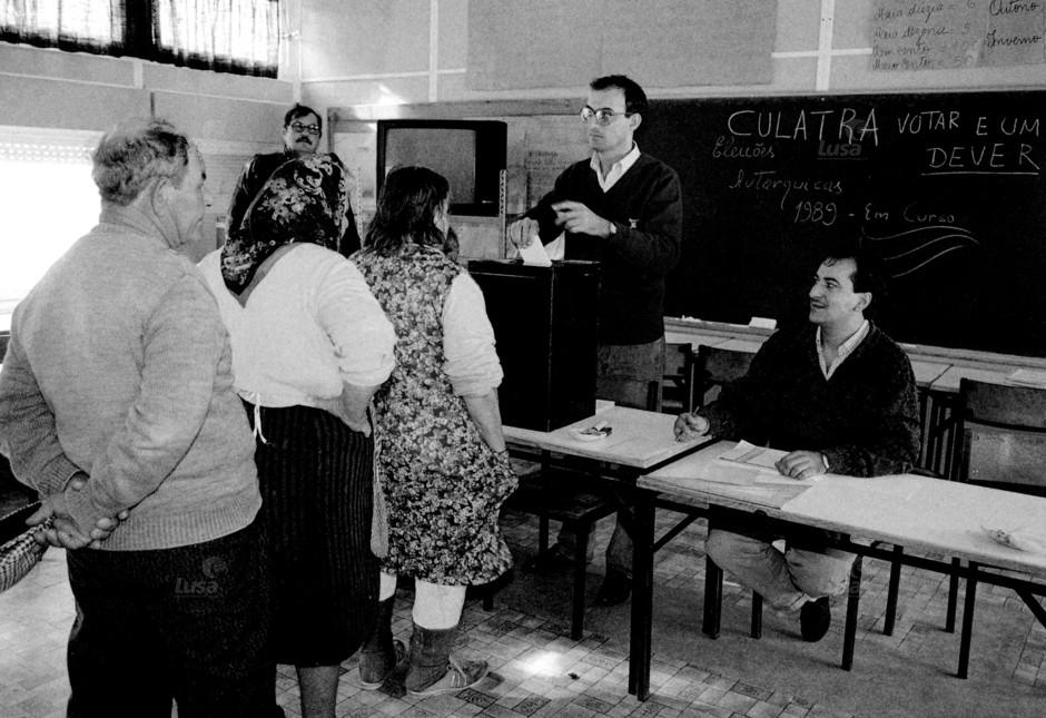 Portugal Eleições Autárquicas 89
