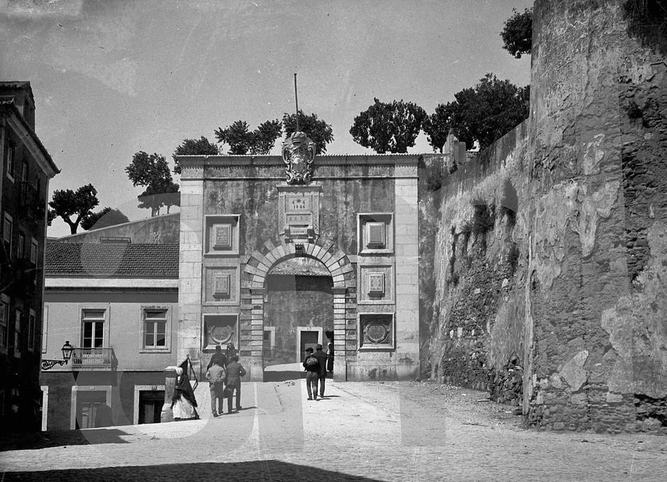 Chão da Feira, Lisboa (Bárcia, c. 1900)