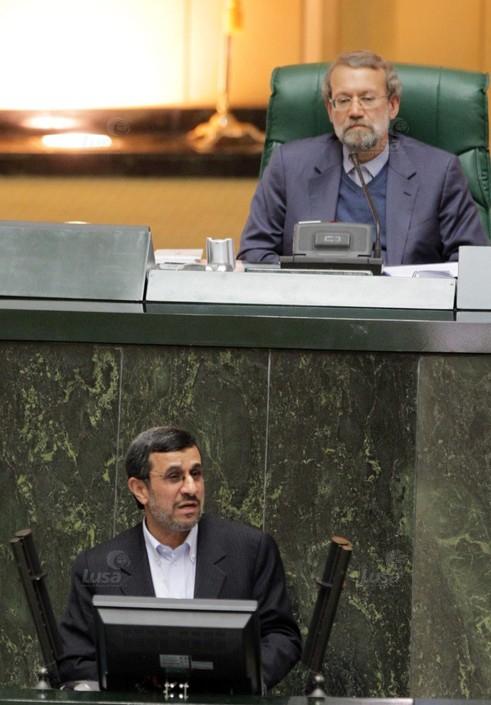 IRAN PARLIAMENT AHMADINEJAD